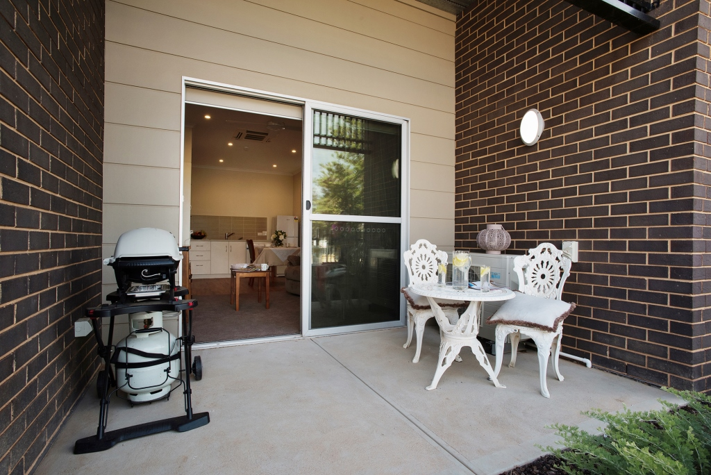 Outdoor area Kaesler Serviced Apartments Loxton